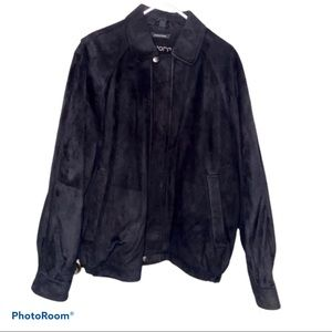 Claiborne Black Suede Men's Jacket